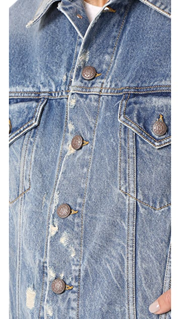 R13 Drop Shoulder Denim Vest