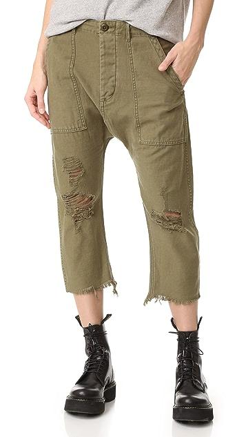 R13 Ripped Utlity Pants
