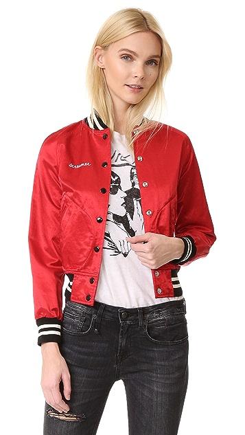 R13 Unlined Raglan Jacket
