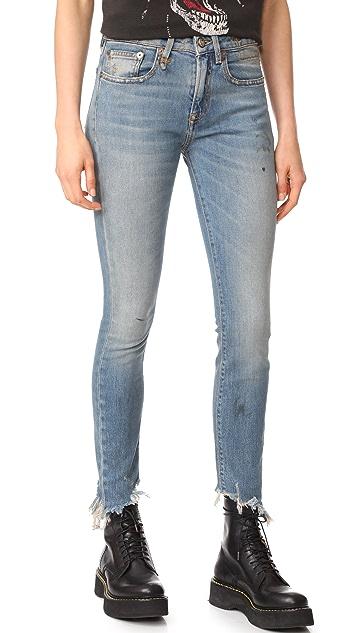 R13 Jenny Mid Rise Jeans