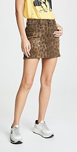 R13 - High Rise Miniskirt