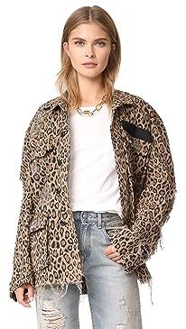 Shredded Leopard Abu Jacket