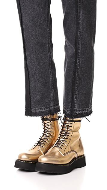 R13 Glamrock Single Stack Boots