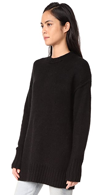 R13 Oversized Crew Sweater
