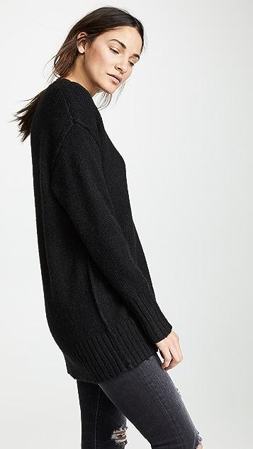 R13 Объемный свитер с округлым вырезом