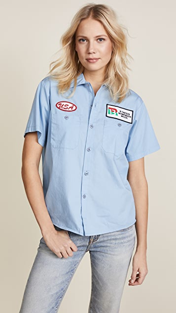 R13 Mechanic Shirt