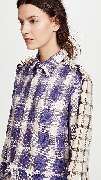 R13 Mended Shirt