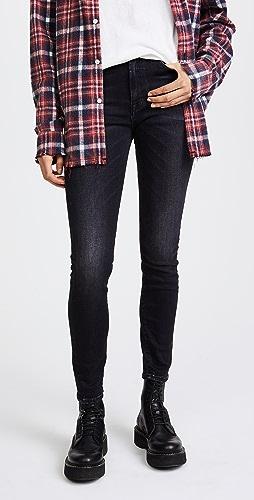 R13 - 高腰紧身牛仔裤