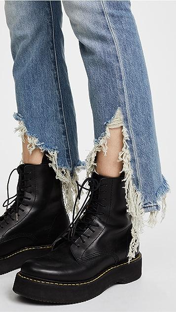 R13 Длинные джинсы Kick