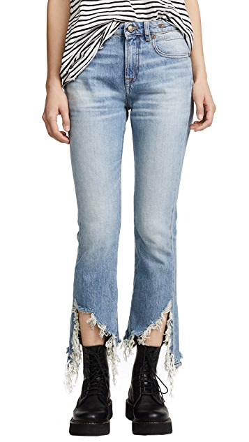 R13 Kick Long Jeans