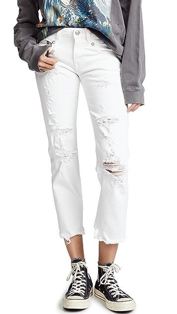 R13 Straight Boy Jeans