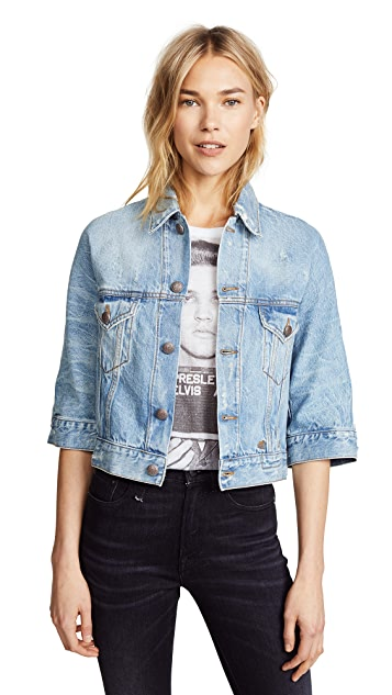 R13 Jackie Trucker Jacket