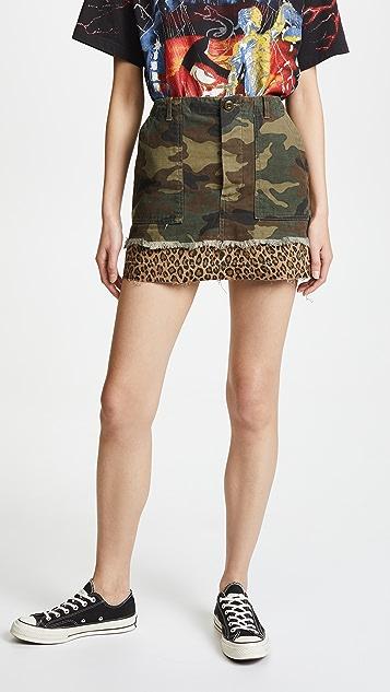 R13 Utility Camp Skirt