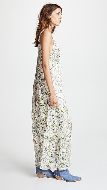 R13 Long Silk Slip Dress