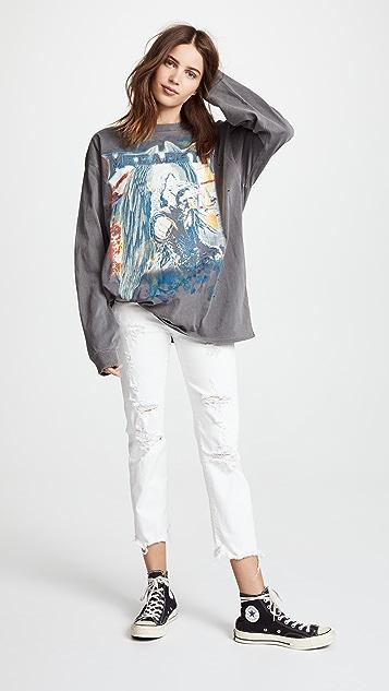 R13 Megadeth Long Sleeve Tee