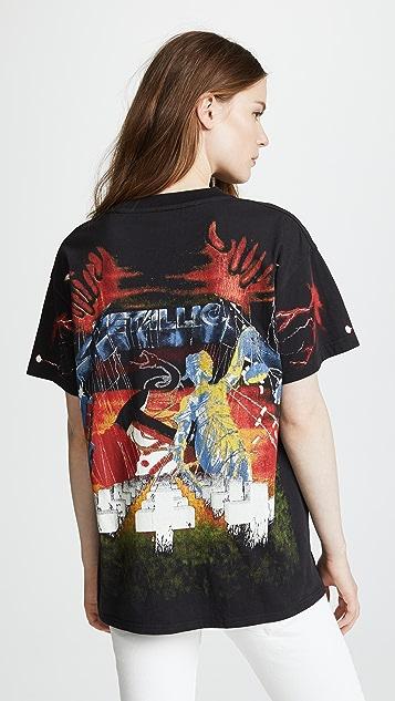 R13 Metallica Tee