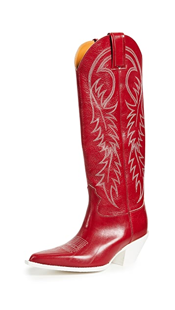 R13 Mid Straight Cowboy Boots