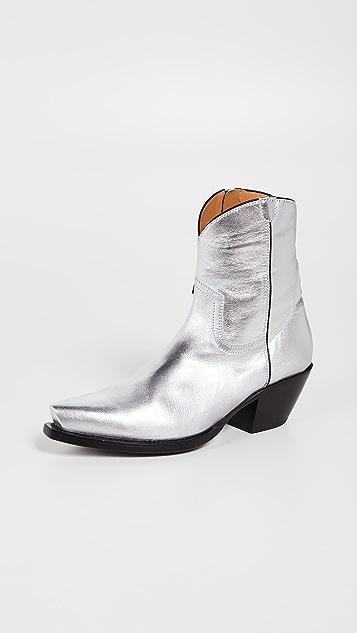 b96af8c81ffc3 Cowboy Ankle Boots
