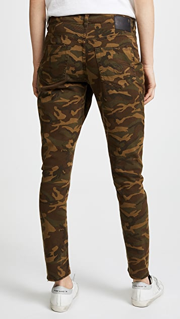 R13 X Over Camo Jeans