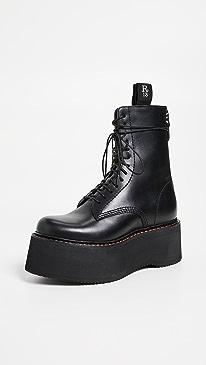 Combat Stack Boots