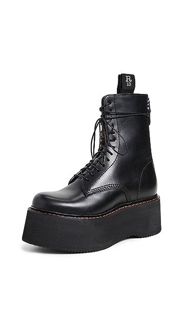 R13 Армейские ботинки Stack