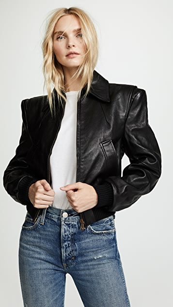 R13 Americana Leather Jacket