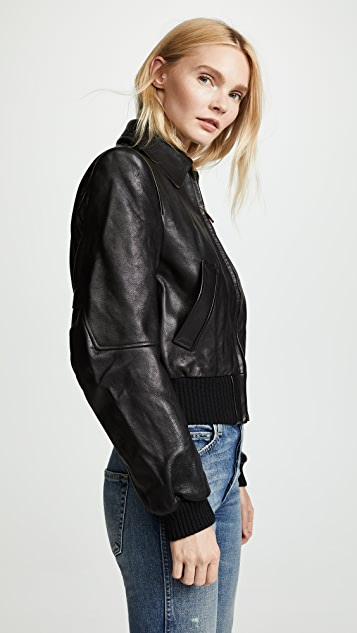 R13 Americana Leather Jacket