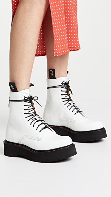 R13 Single Stacked Boots