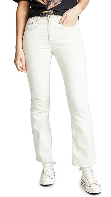 R13 Long Kick Fit Jeans
