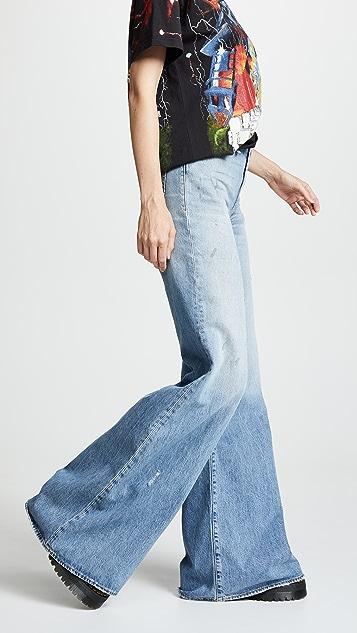R13 Широкие джинсы Raegan