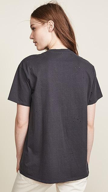 R13 Винтажная футболка Rose Teeth