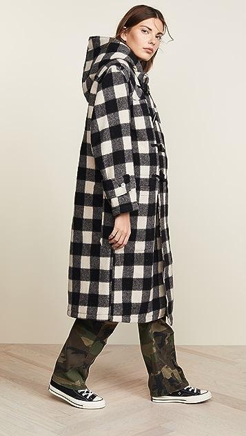R13 Long Toggle Coat