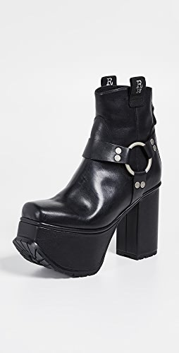 R13 - Ankle Harness Platform Boots