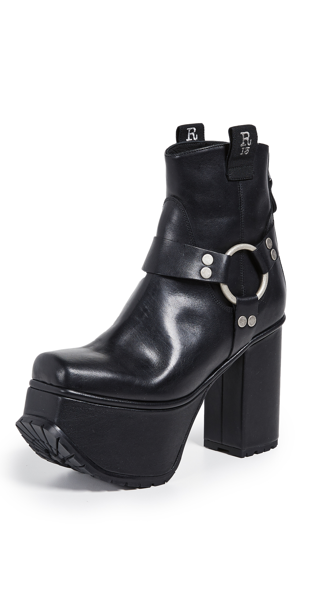 R13 Ankle Harness Platform Boots
