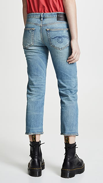 R13 The Boy Straight Jeans