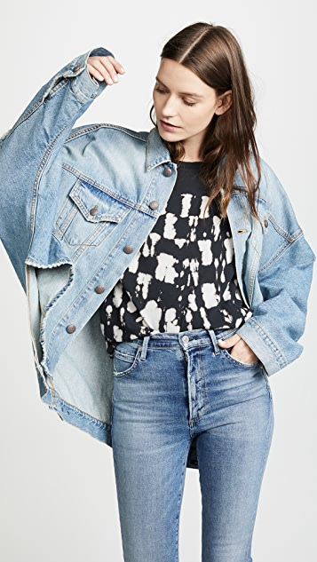 R13 Max S Oversized Trucker Jacket