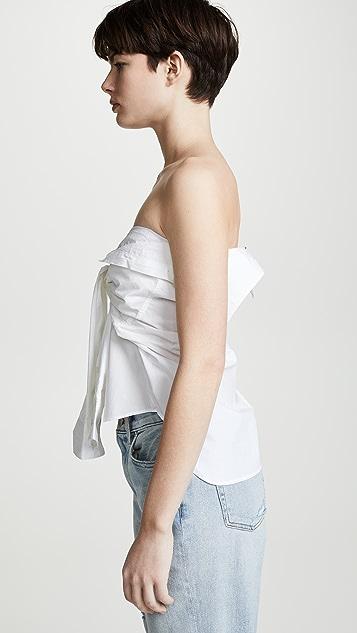 R13 Рубашка с завязками