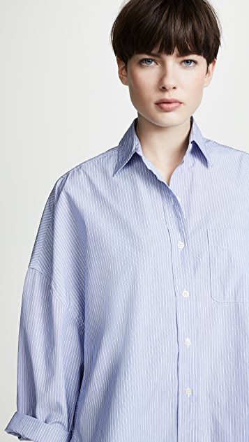 R13 Свободная рубашка