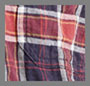 Maroon with Rust Plaid