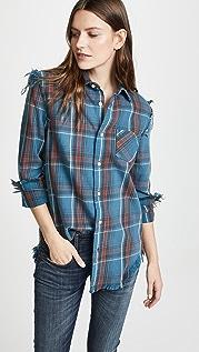 R13 Shredded Seams Shirt