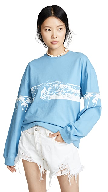 R13 Surf Long Sleeve Tee