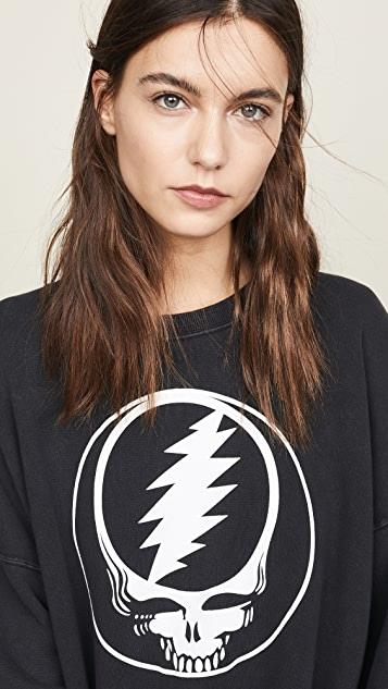 R13 Steal Your Face Sweatshirt
