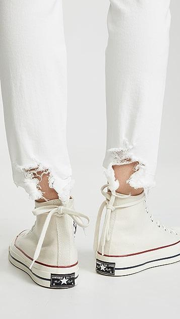 R13 Джинсы-скинни в мужском стиле