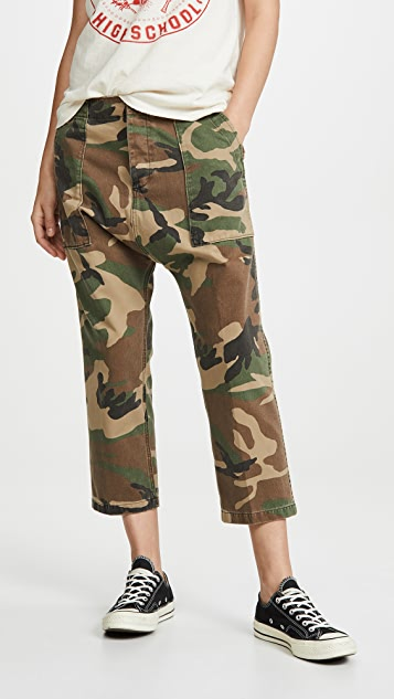 R13 Utility Drop Crotch Pants