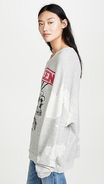 R13 Exploited Punk Oversized Sweatshirt
