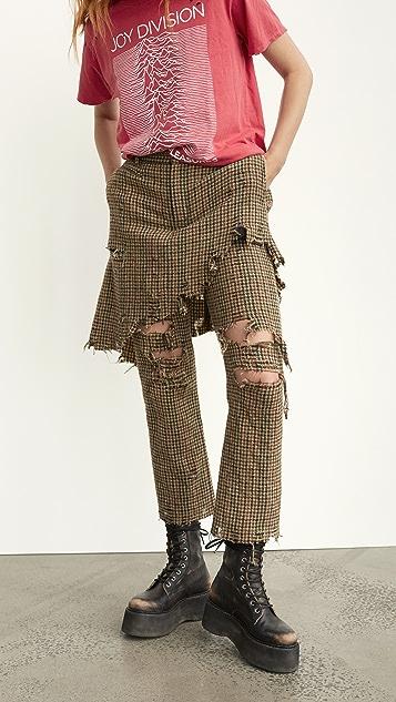 R13 双层经典长裤