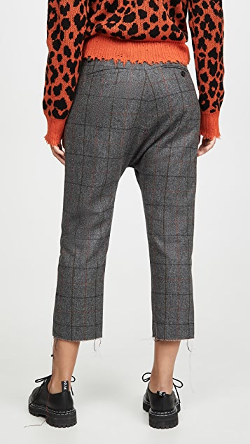 R13 Tailored Drop Trousers