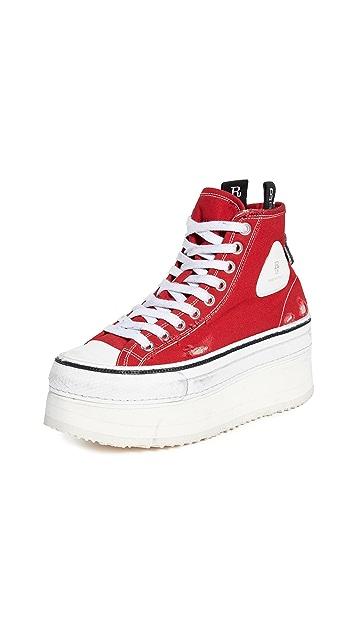 R13 高筒轻便厚底运动鞋