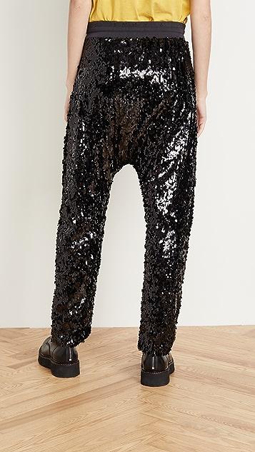 R13 Sequin Field Sweatpants
