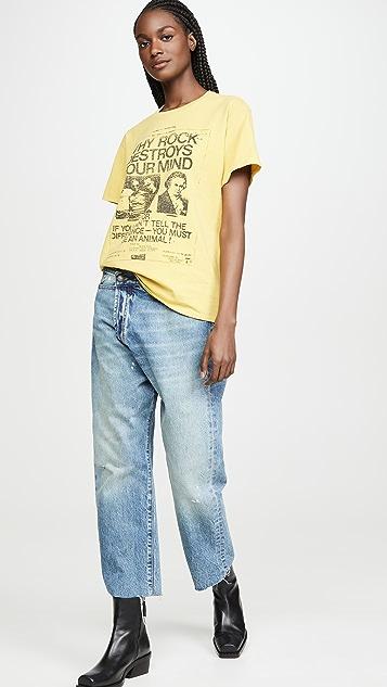 R13 Why Rock Destroys Your Mind Boy T 恤